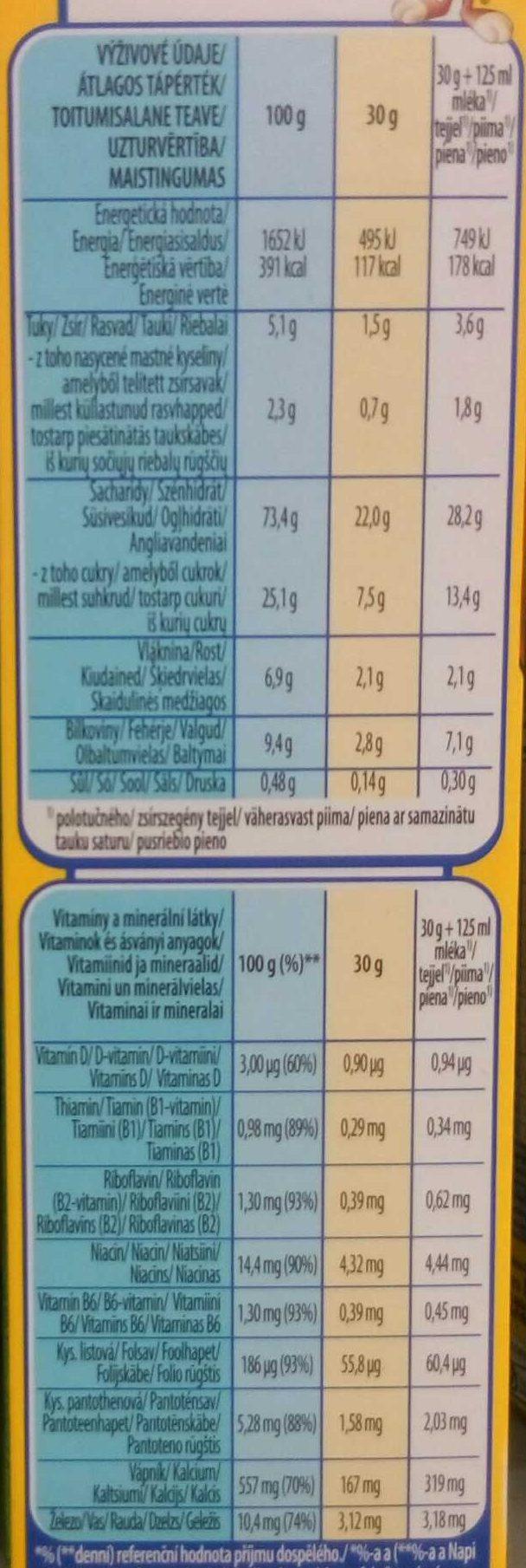 Nesquik Duo - Informations nutritionnelles - hu