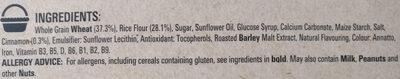 Curiously Cinnamon - Ingredients - en