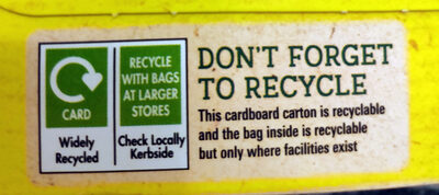Curiously Cinnamon - Recycling instructions and/or packaging information - en