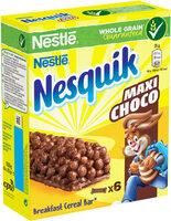 NESQUIK Maxi Choco Barre de Céréales - Product - fr