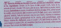 NESQUIK Maxi Choco Barre de Céréales - Ingrediënten - fr