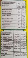 Barres céréales Maxi Choco - Voedigswaarden