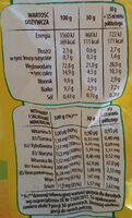 Alfabet - Nutrition facts - pl
