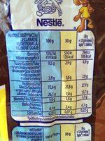Chocapic - smak choco-orzechowy - Wartości odżywcze - pl