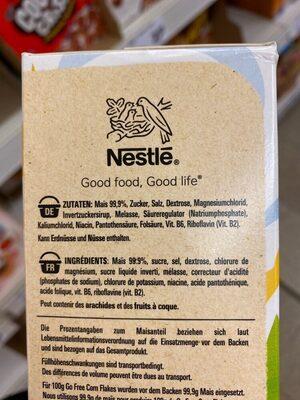 Corn Flakes Gluten-frei - Ingredienti - de