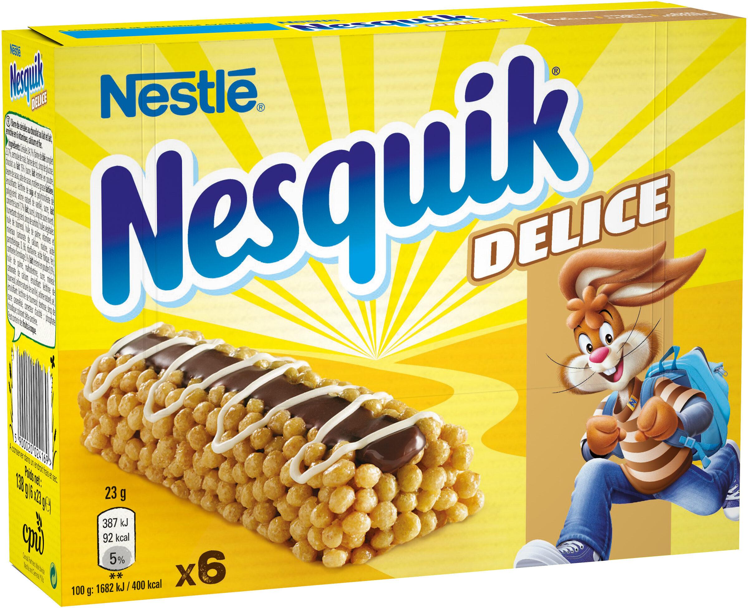 NESQUIK Delice Barres de Céréales - Product - fr