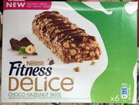 Barre de céréales Fitness Delice Choco Noisette - Product - fr