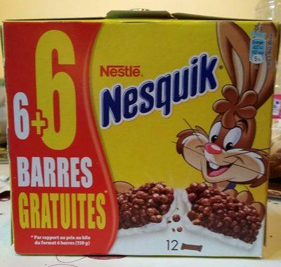 Barres chocolatées céréales chocolat et lait - Product