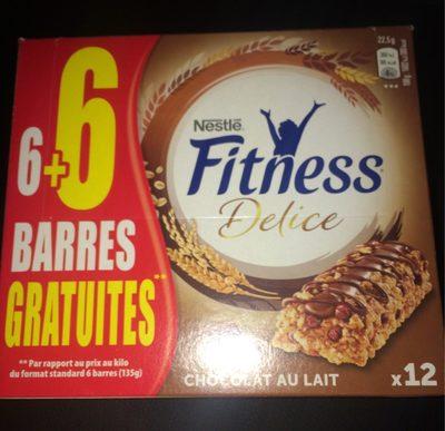 Fitness Délice Chocolat au lait - Produit - fr