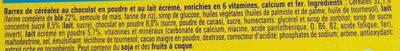 NESQUIK Barres de Céréales 24 x 25g Display - Ingrediënten - fr