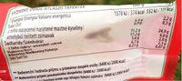 Musli - Nutrition facts - pl