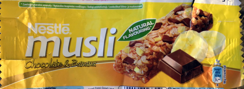 Musli Chocolate & Banana - Produktas - lt