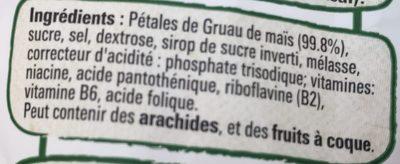 Gofree - Ingrediënten