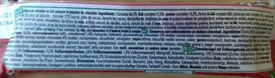 Clusters barre crunchy choco - Ingredienti - fr