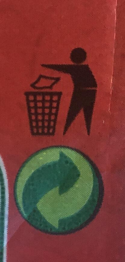 Clusters barre crunchy choco - Istruzioni per il riciclaggio e/o informazioni sull'imballaggio - fr