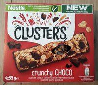 Clusters crunchy choco - Product - fr