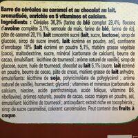 Lion breakfast cereal bar - Ingrediënten