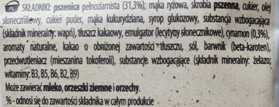 Cini minie Crazycrunsh - Składniki - pl