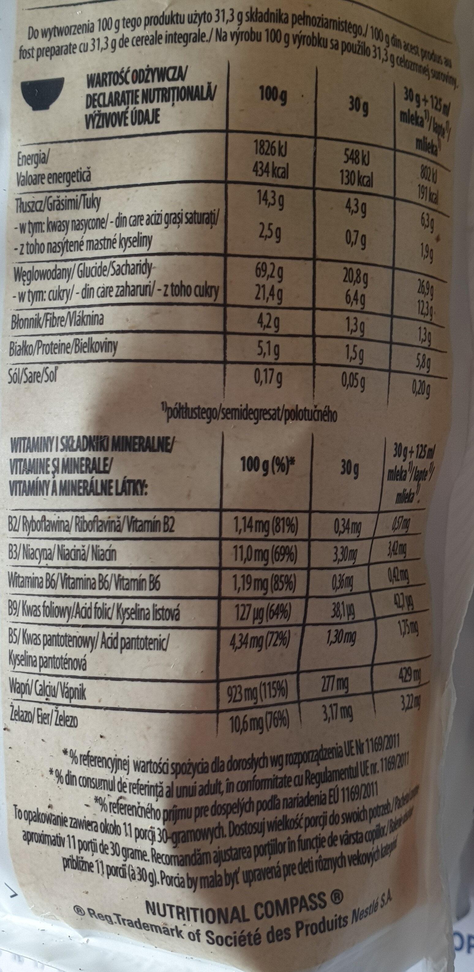 Cini minie Crazycrunsh - Wartości odżywcze - pl