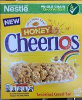 Honey cheerios honey cereal bar - Product