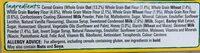Honey cheerios honey cereal bar - Ingredients