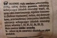 Cheerios Owsiany - Ingredients - pl