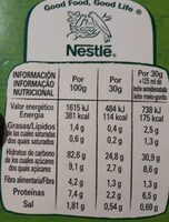 Corn Flakes sin gluten - Voedingswaarden - es