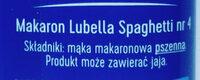 Makaron spaghetti - Ingredients - pl