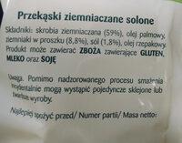 Prazynki - Ingredients - pl