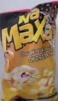 Na Maxa Chrupki kukurydziane orzechowe - Produkt - pl