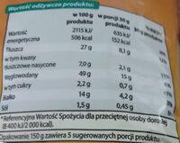 Na Maxa Chrupki kukurydziane orzechowe - Wartości odżywcze - pl