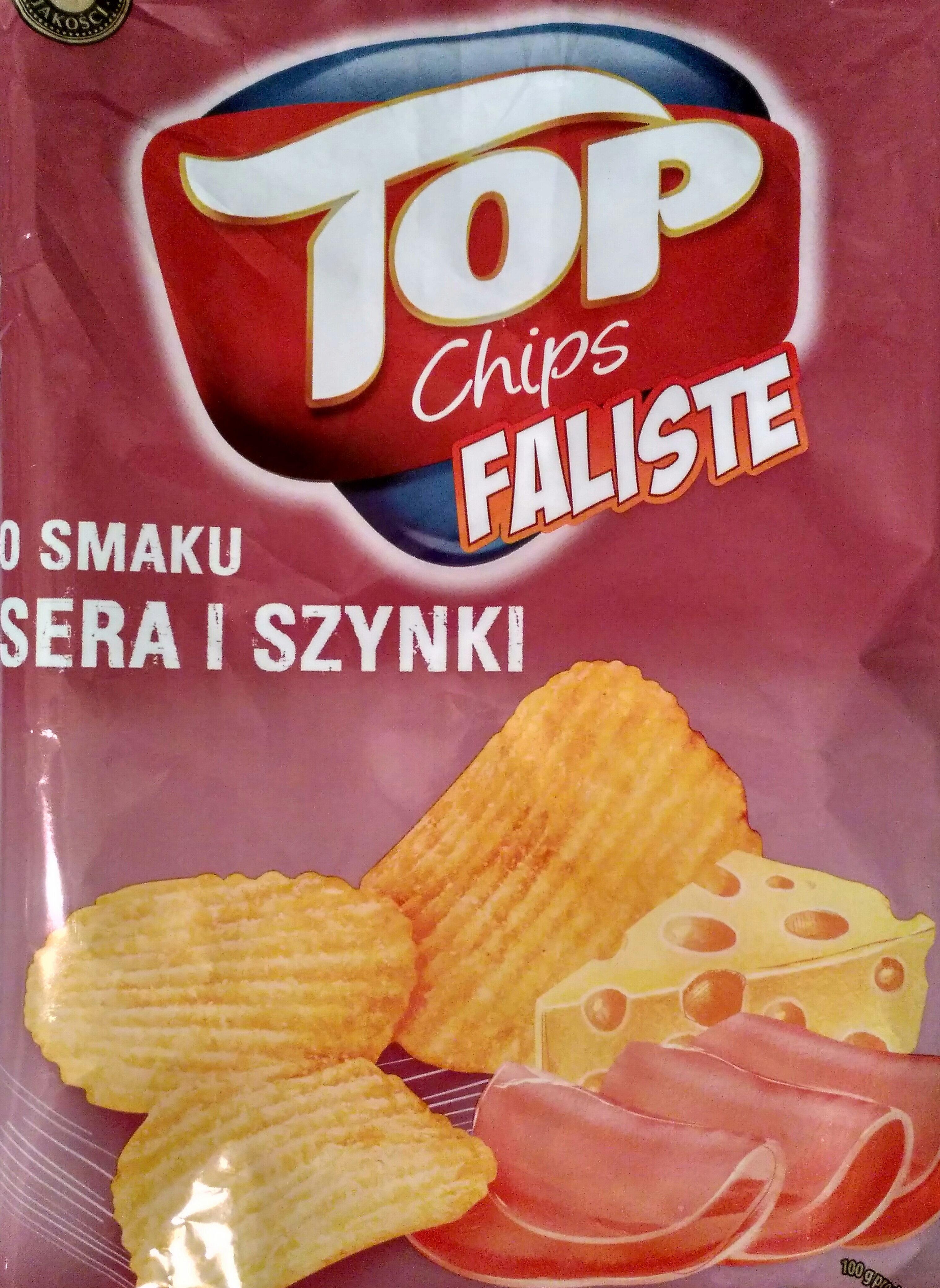 Top chips faliste - Produkt - pl