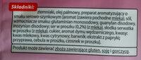 Top chips faliste - Składniki - pl