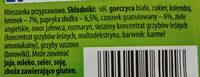 Przyprawa do bigosu i potraw z kapusty - Składniki - pl