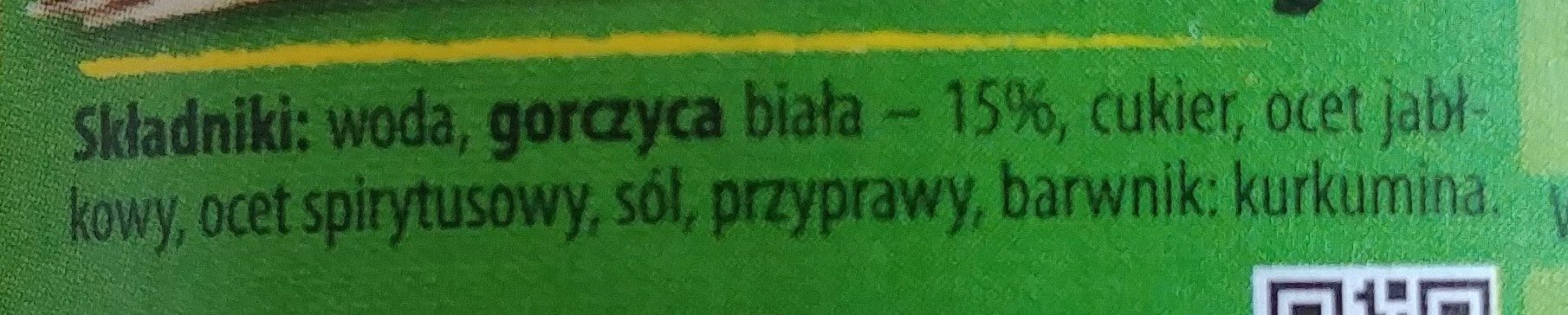 Musztarda delikatesowa - Składniki - pl