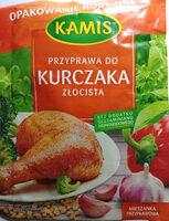 Przyprawa do kurczaka złocista - Produkt