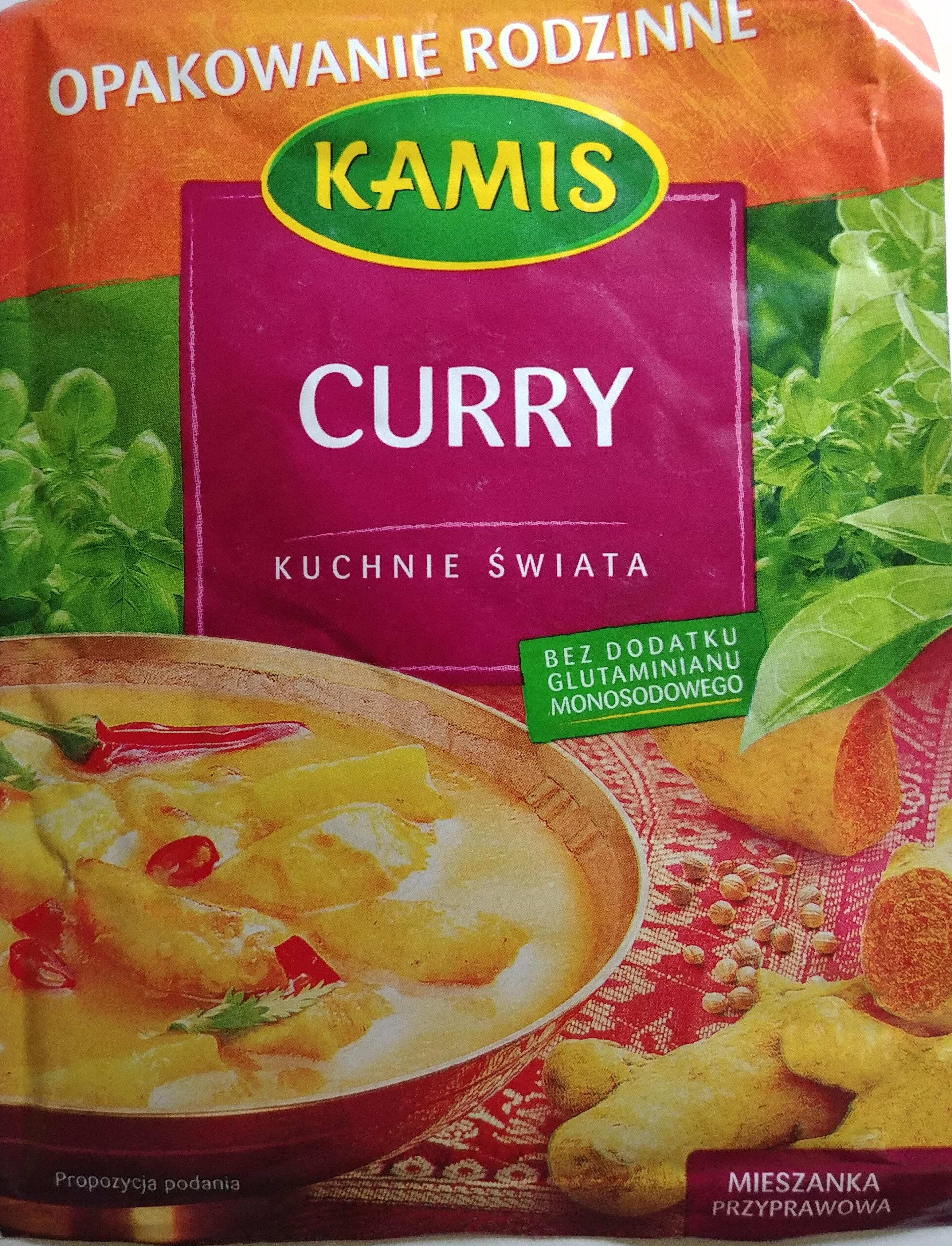 Curry - Produkt