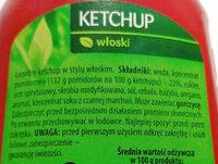 Ketchup włoski - Ingredients
