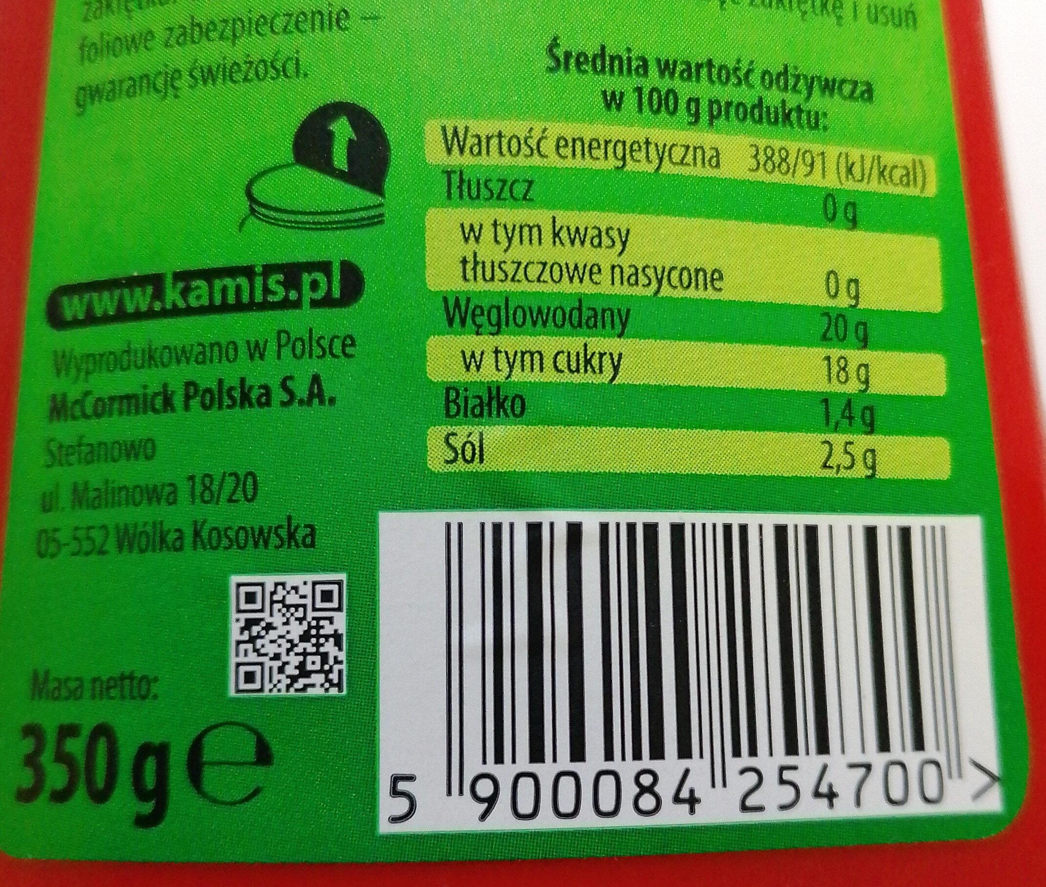 Ketchup włoski - Nutrition facts