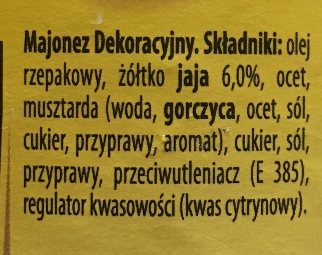 Polish Mayo - Składniki - pl