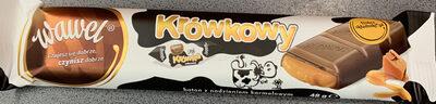 Baton z czekolady mlecznej z nadzieniem karmelowym - Produkt