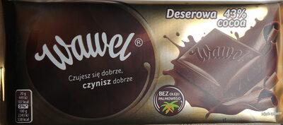 Czekolada deserowa 43% cocoa - Product - pl
