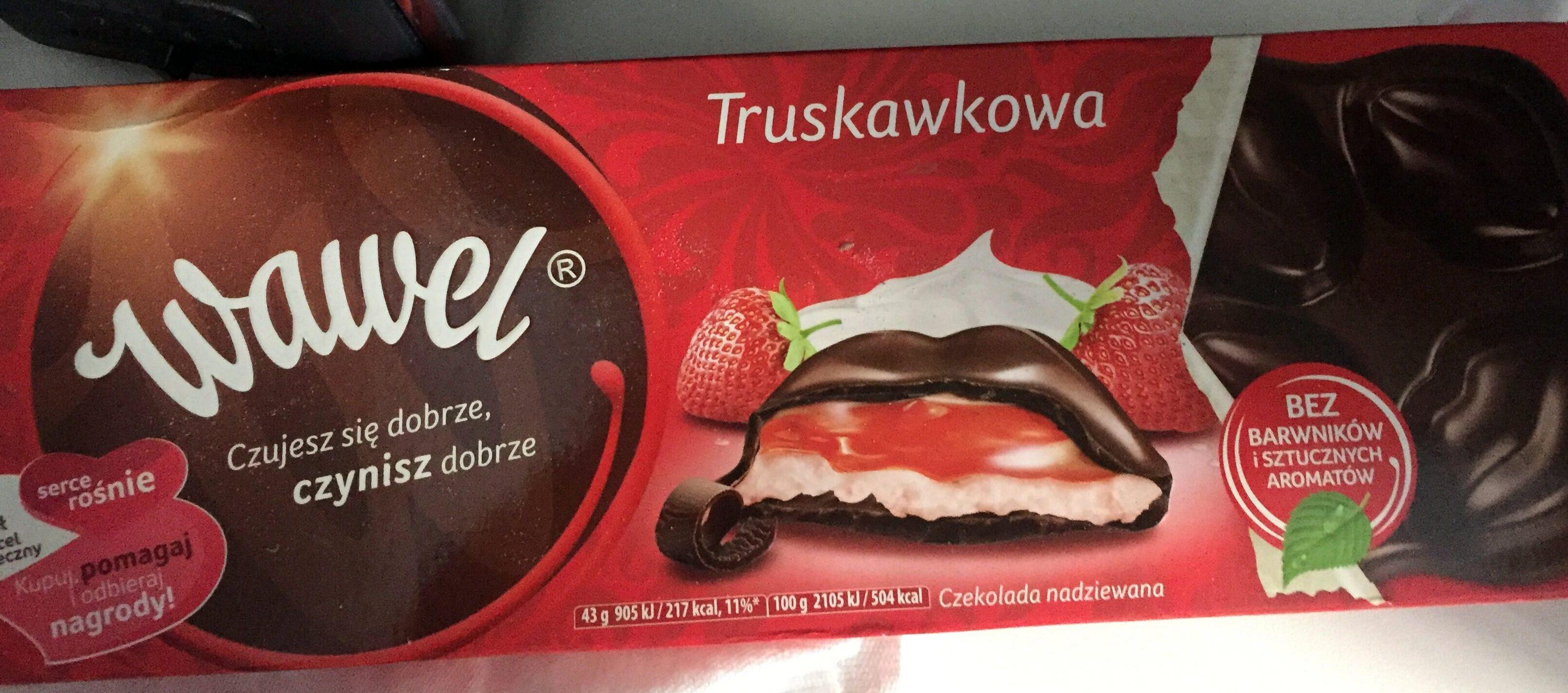 Truskawkowa czekolada nadziewana - Product - en