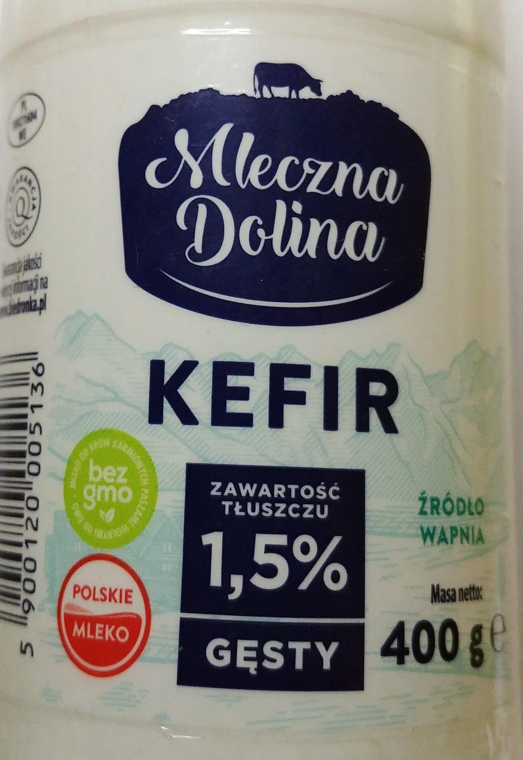 Kefir naturalny 1,5 % tłuszczu - Produkt - pl