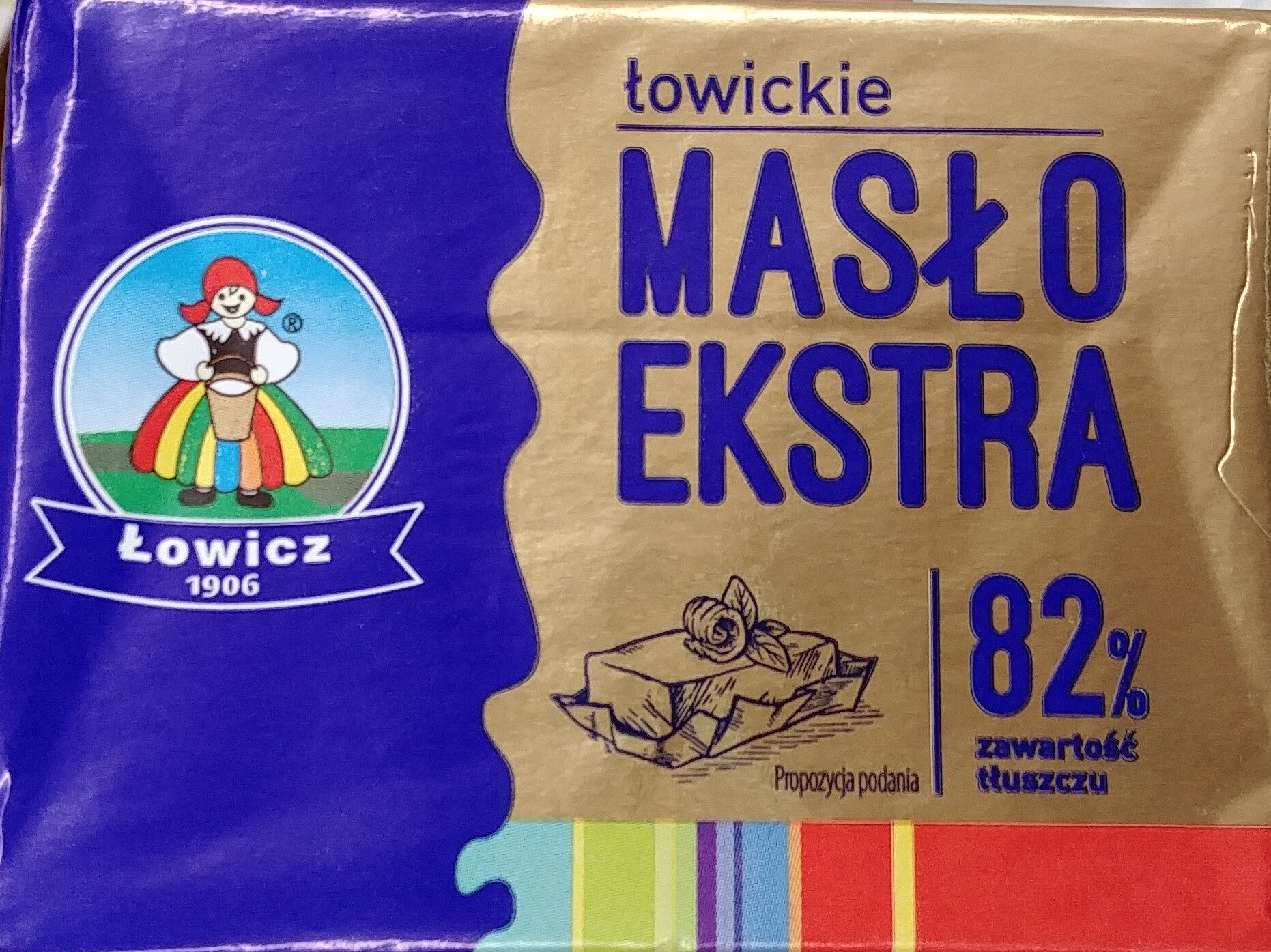 Masło Ekstra 82% - Product - pl