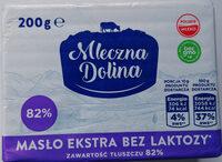 Masło ekstra bez laktozy - Produkt