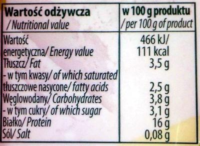 Tworok - Wartości odżywcze - pl