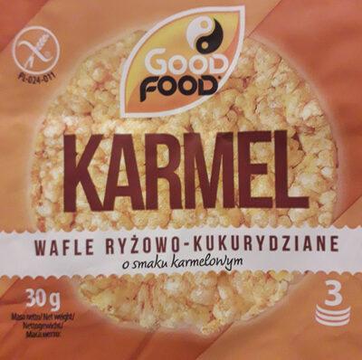 Wafle ryżowo-kukurydziane o smaku karmelowym - Produit - pl