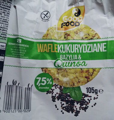 Wafle kukurydziane - Produkt