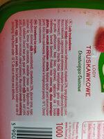 zielona budka lody truskawkowe - Składniki - pl